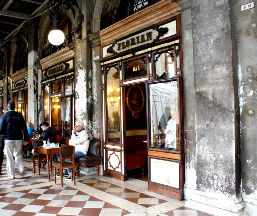Venice: The oldest cafe in Italy