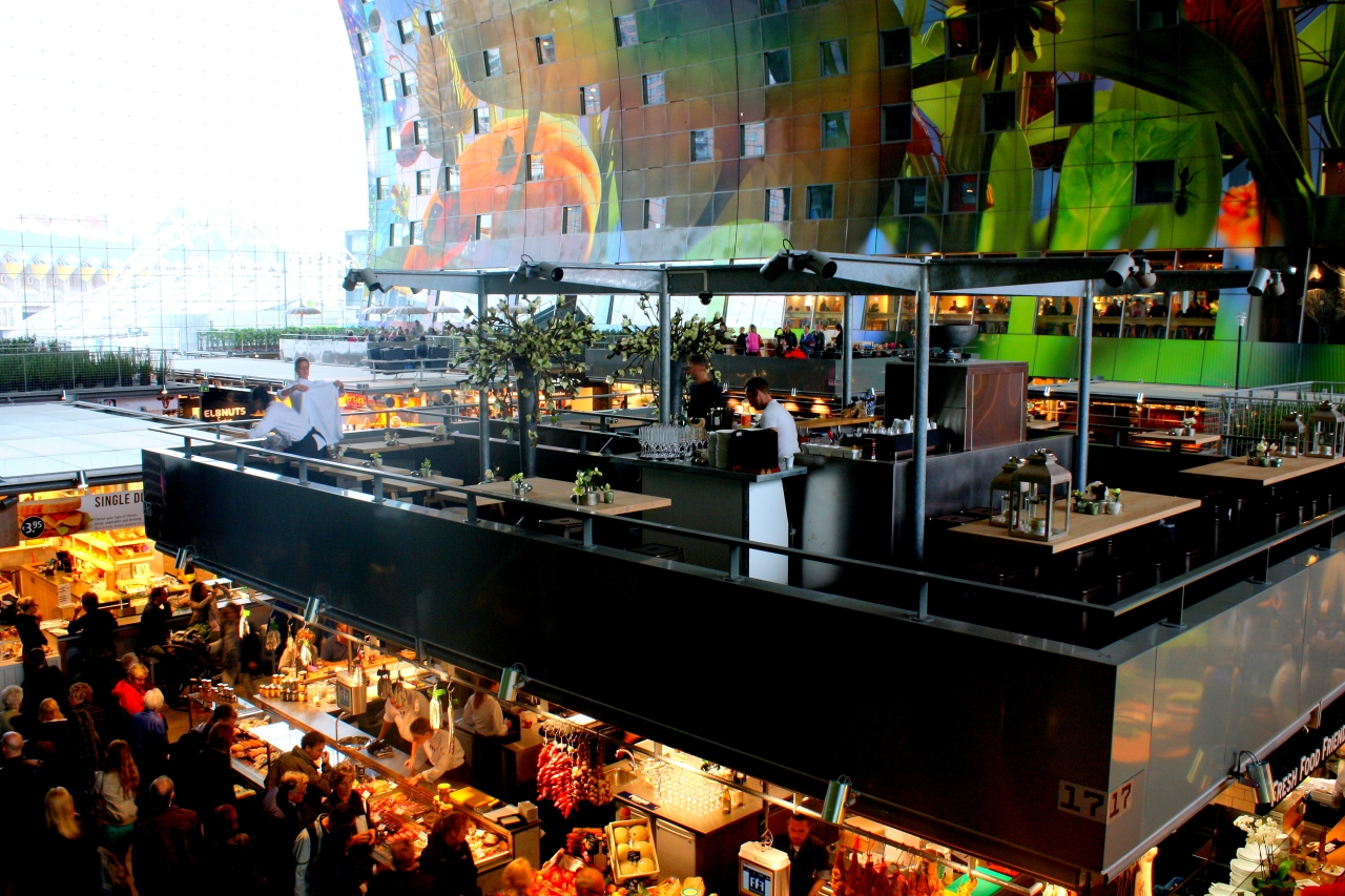 Rotterdam v. Amsterdam: The battle of the indoor food market